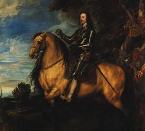 Reiterporträt von Karl I., Anthony van Dyck