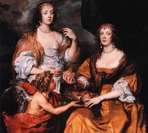 Lady Elizabeth Timbelby und Dorothy, Viscountess Andover, Anthony van Dyck
