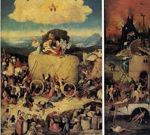 Wagen des Heus, Jerome Bosch, 1516