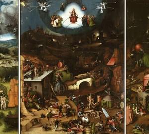Das Jüngste Gericht, Jerome Bosch – Beschreibung des Gemäldes