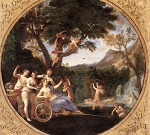 Frühling (Venus Toilette), Francesco Albany