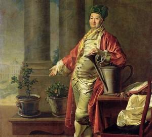 Porträt von P. A. Demidov, Levitsky – Beschreibung