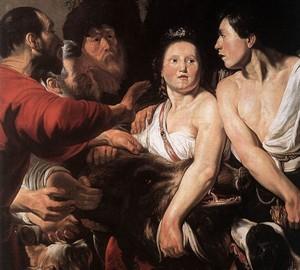 """""""Meleager und Atalanta"""", Jacob Jordaens – Beschreibung des Gemäldes"""