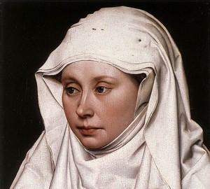 Porträt einer Frau, Robert Kampen, um 1435