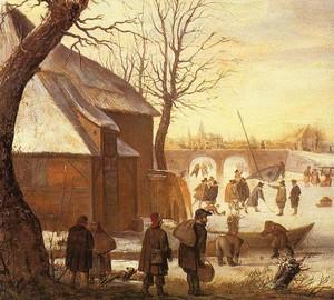 """""""Winterlandschaft"""", Hendrick Averkamp – Beschreibung des Gemäldes"""