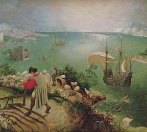 "Das Gemälde ""Der Fall des Ikarus"", Peter Brueghel der Ältere – Beschreibung"