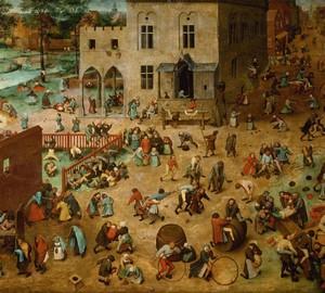 "Gemälde ""Kinderspiele"", Peter Brueghel der Ältere – Beschreibung"