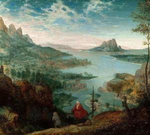 """""""Landschaft mit der Flucht nach Ägypten"""", Peter Brueghel der Ältere – Beschreibung des Gemäldes"""