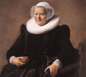 Porträt einer alten Dame, Frans Hals – Beschreibung