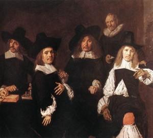 """""""Regents of the Harlem Almshouse"""", Frans Hals – Beschreibung des Gemäldes"""